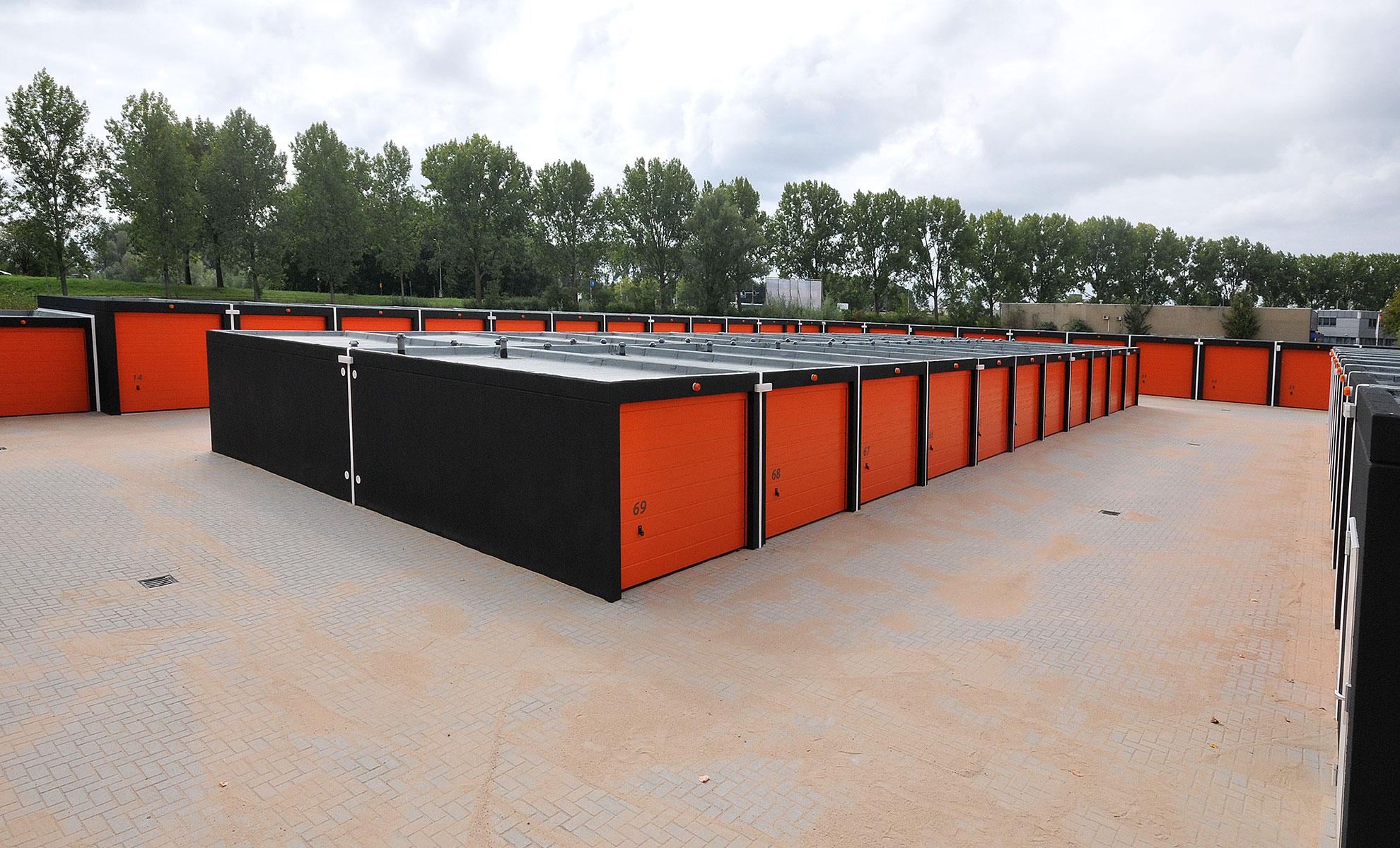 Garageplein Arnhem - Box overzicht